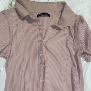 Abercrombie and Fitch button down collared top